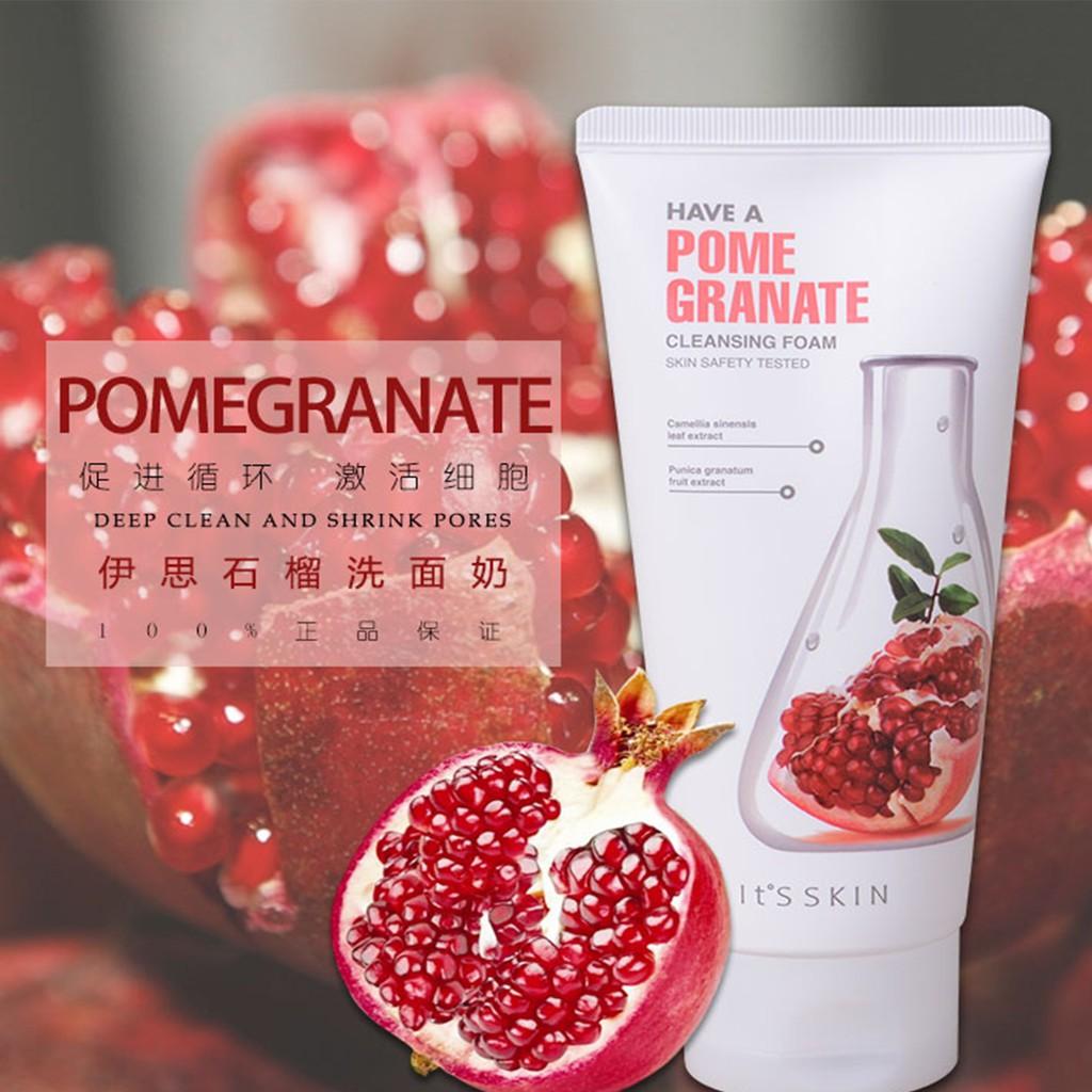 It's Skin Have a Pomegranate Cleansing Foam   Shopee Việt Nam