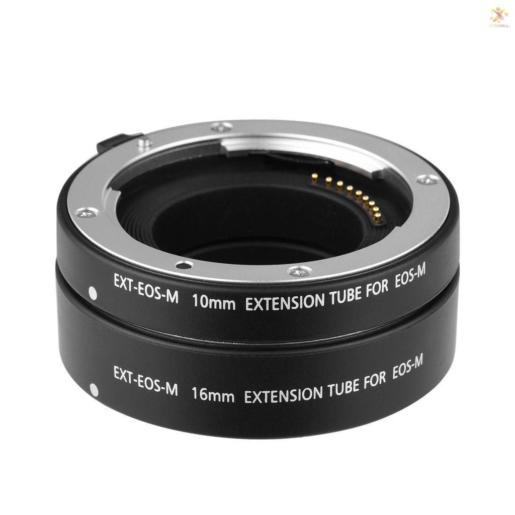 Ống Kính Mở Rộng Tự Động Dg-Eos M 10mm Và 16mm Cho Máy Ảnh Ef-M