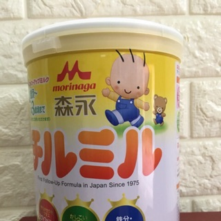 Sữa Morinaga 1-3 hộp sắt 820g (hàng nội địa Nhật)