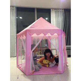 Lều cổ tích công chúa 150 x 140cm – lều lục giác hoàng tử cho bé