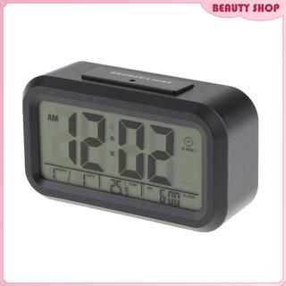 Digital LED Calender Alarm Clock Temperature Snooze Multiple Alarms