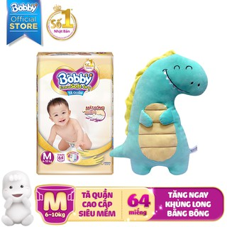 Hình ảnh [Nhập HAPPYBDAY -12% đơn 500K][Tặng khủng long bông] Tã quần cao cấp Bobby Extra Soft Dry S70/M64/L56/XL50/XXL46-2
