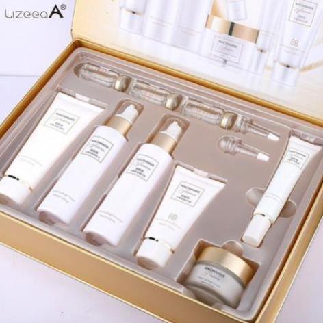 MS0001 Bộ mỹ phẩm LizeeaA dưỡng da cao cấp làm sáng da và chống lão hóa chăm sóc da mặt từ sâu bên trong