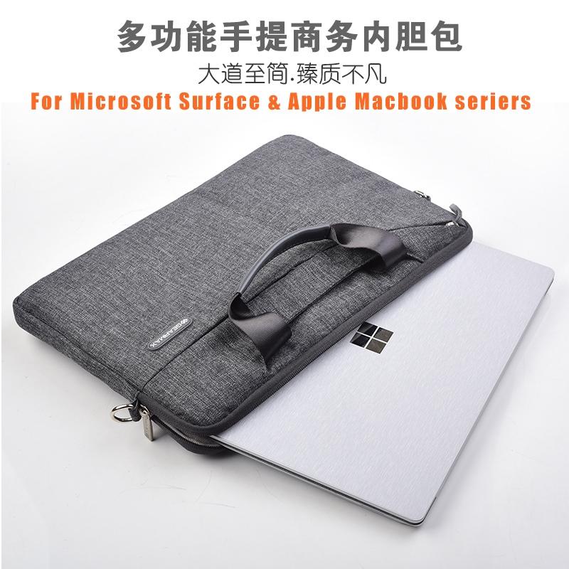 ●Microsoft Surface pro6 Computer Pack pro5 Tank 4 Portable 12.3 inch Laptop2 13.5 oblique cross apple MacBook Air 13.3