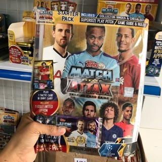 [Starter pack ] Album Match Attax 19/20 UFEA EURO (17 thẻ )