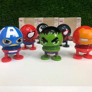 Thú nhún Marvel siêu anh hùng 6 mẫu