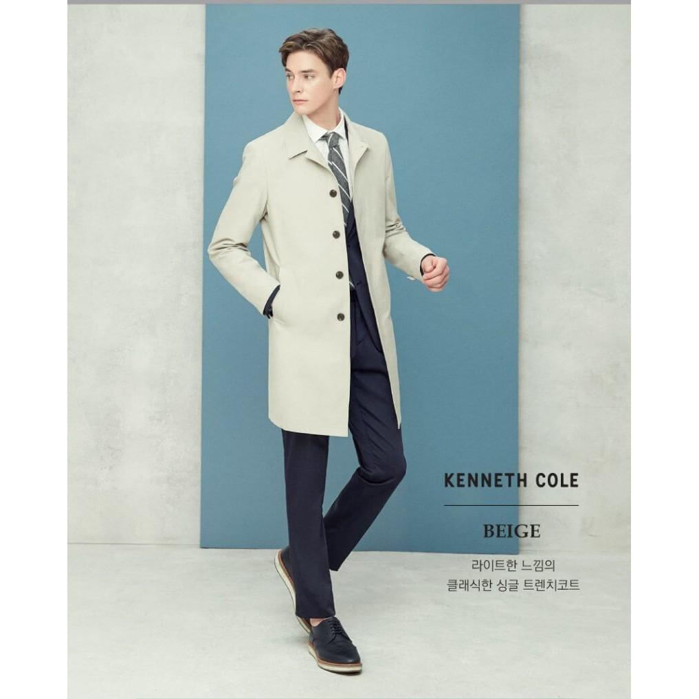 Áo măng tô khaki nam Kenneth