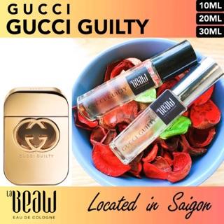 Yêu ThíchNước Hoa Nữ Gucci Guilty🌼Mini 10ml Dạng Lăn Dạng Xịt-Dầu Thơm Bỏ Túi Size Nhỏ Tiện Dụng-LaBeaw