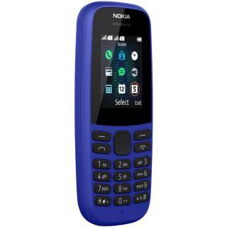 Điện thoại phổ thông Nokia 105 single Sim 2019 mới 100% chính hãng
