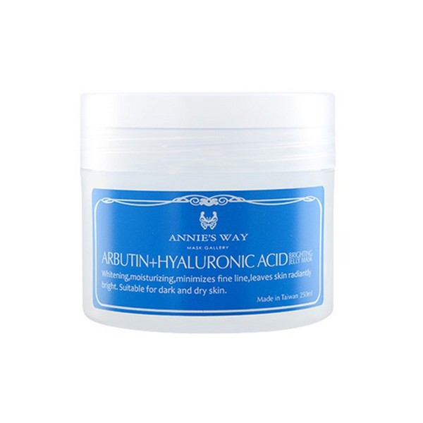 Mặt Nạ Thạch Annie's Way Arbutin + Hyaluronic Acid Brightening Jelly Mask (250ml)
