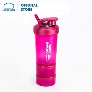 Bình lắc SHAKE IT Lock&Lock 600ml Màu hồng HAP945 thumbnail