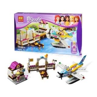 Bộ Lego Stephanie Lái Máy Bay -192 Chi Tiết