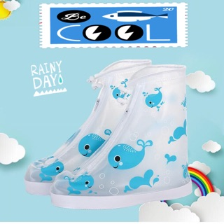 Giày (bọc giày đi mưa) bảo vệ chân và giày/dép-tiện lợi bền sử dụng được nhiều lần-ủng chống nước style xinh xắn
