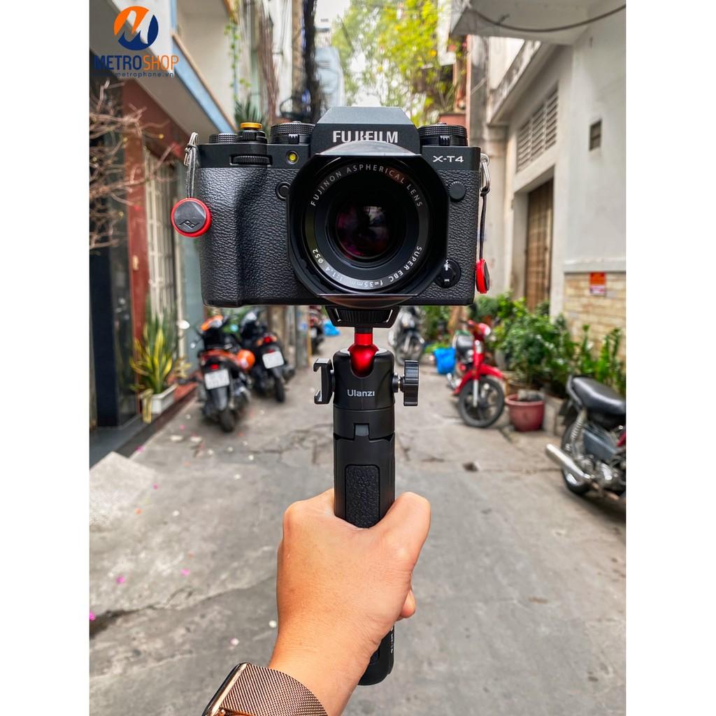 [Mã SKAMPUSHA7 giảm 8% đơn 250k]Tay cầm quay video Vlog máy ảnh – điện thoại Ulanzi MT-16