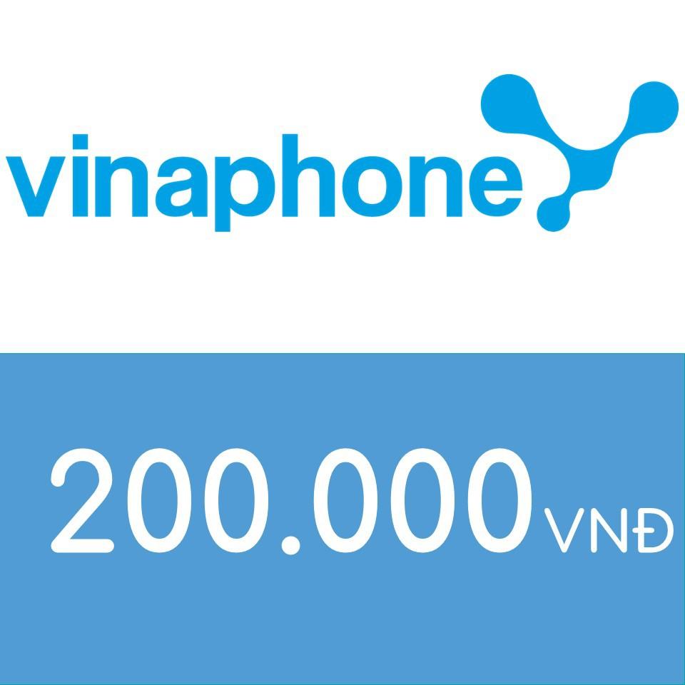 Nạp điện thoại Vinaphone 200K