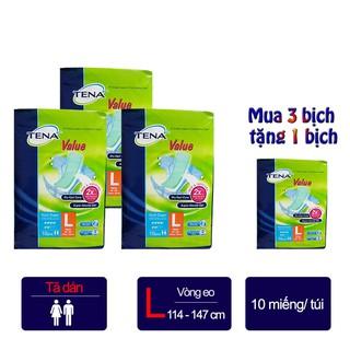 COMBO (3 TẶNG 1) Tã dán người lớn Tena Value – tã người lớn nhập khẩu Malaysia – Số lượng có hạn