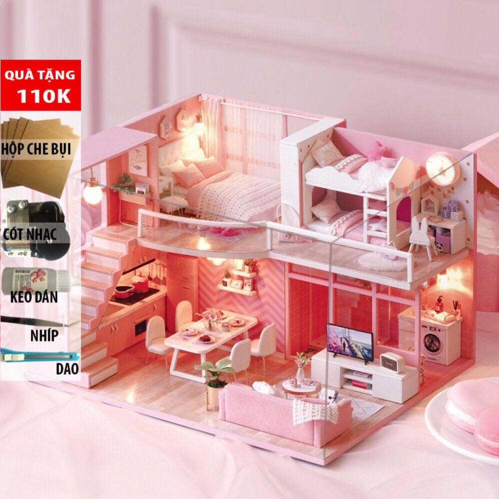 [Mã TOYJAN hoàn 20K xu đơn 50K] Nhà Búp Bê DIY – Dream Angel L-026