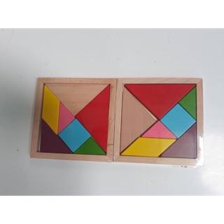 Bộ xếp hình trí uẩn gỗ