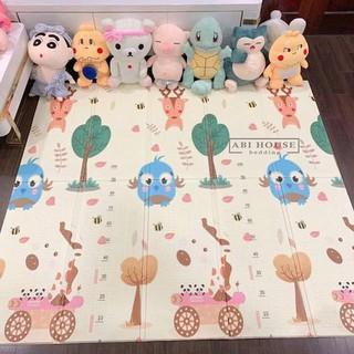 Thảm xốp gấp gọn 2 mặt Hàn Quốc - Thảm xốp XPE Hàn Quốc - Thảm xốp cho bé - thảm cho bé tập bò chống ngã thumbnail
