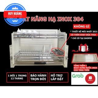[Deal Sốc] Giá Bát Nâng Hạ Tủ bếp INOX304, Bộ Chuyển Động Giảm Chấn Thông Minh – Hàng Chính Hãng (Bảo Hành 5 Năm)