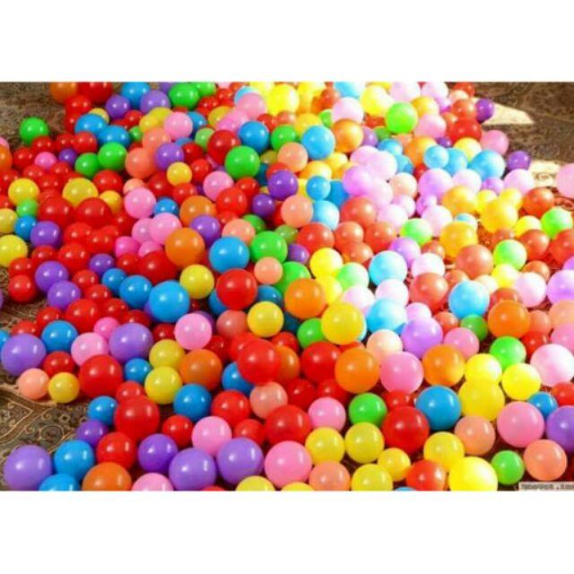 100 quả bóng nhựa nhỏ mềm cho bé chơi. - 2407217 , 27397268 , 322_27397268 , 65000 , 100-qua-bong-nhua-nho-mem-cho-be-choi.-322_27397268 , shopee.vn , 100 quả bóng nhựa nhỏ mềm cho bé chơi.