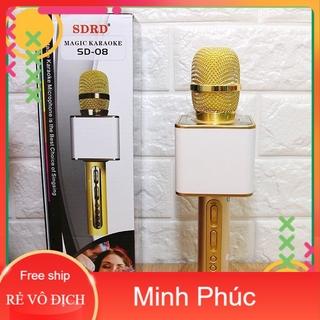 Mic Karaoke Magic SD-08 Hàng Loại 1 Âm Thanh Chuẩn Loa To