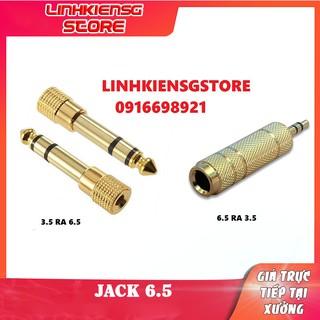 Jack chuyển 3.5 sang 6.5 và 6.5 sang 3.5mm