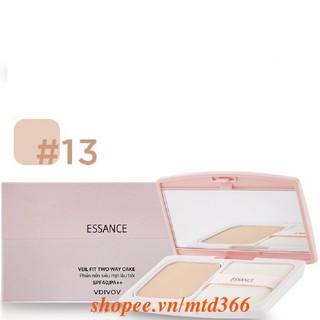 Phấn Nền Số 13 Tông Da Sáng Essance Siêu Mịn Lâu Trôi Veil Fit Two Way Cake Spf40 pa++ thumbnail