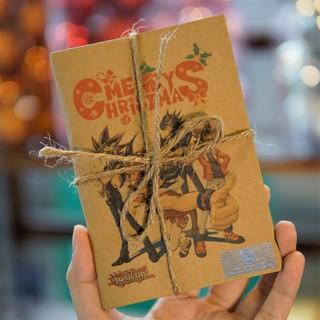 Thiệp Giáng sinh Phong cách Yugioh – Yugioh Characters – Tặng lá bài ngẫu nhiên bên trong
