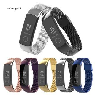 Dây đeo thép không gỉ dạng lưới thay thế cho đồng hồ thông minh Huawei Honor 4