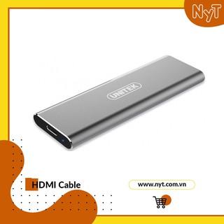 Box đựng ổ cứng SSD M2 NVMe vỏ nhôm cao cấp chuẩn USB3.1 hỗ trợ đến 5Gbps Unitek S1201A thumbnail