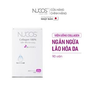 Viên uống collagen trẻ hóa da tăng đàn hồi Nucos collagen 100% 90 viên thumbnail