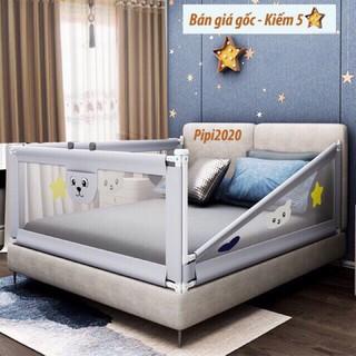 [FREESHIP 70k] Thanh chắn giường nâng cấp mẫu mới nhất 1m6 1m8 2m 2m2