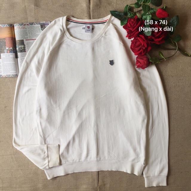 Áo sweater trắng usa