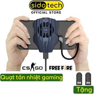 Quạt tản nhiệt làm mát cho điện thoại SIDOTECH Memo DL02 Cổng Lightning TypeC Tản nhiệt nhanh cho game thủ mobile thumbnail