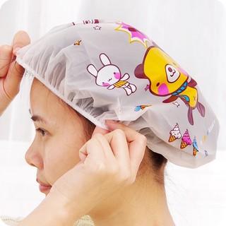 Mũ chụp tóc bo chun khi tắm ( Giao mẫu ngẫu nhiên)