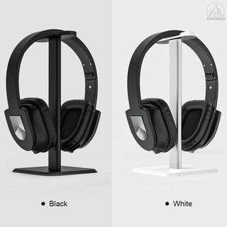 Tfh Plastic Headphone Holder Aluminum Alloy ABS Stand Detachable Stable Desktop Bracket with Sticker for Wired or Wirele
