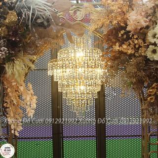 Đèn Chùm Pha Lê – AD001 (80x60cm có video thật khách inbox shop gửi)
