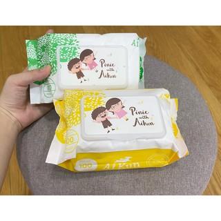 Combo 3 gói khăn ướt AiKun cho bé thumbnail