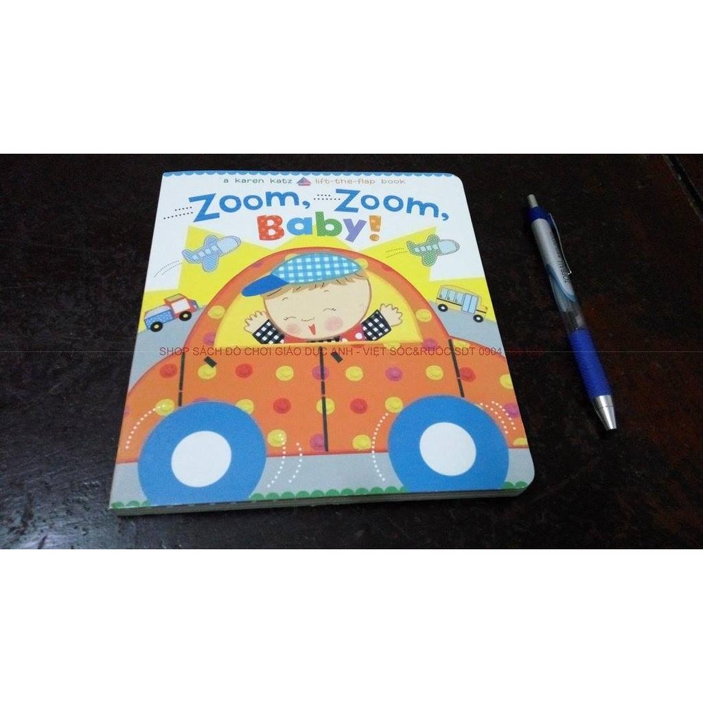 Sách tiếng anh tương tác với trẻ: Zoom, Zoom, Baby