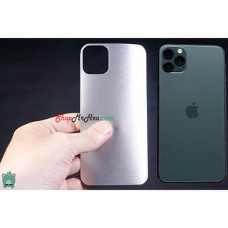 Skin Dán Mặt Sau Lưng Vân Nhôm Iphone 11 – Iphone 11 Pro – Iphone 11 Pro Max