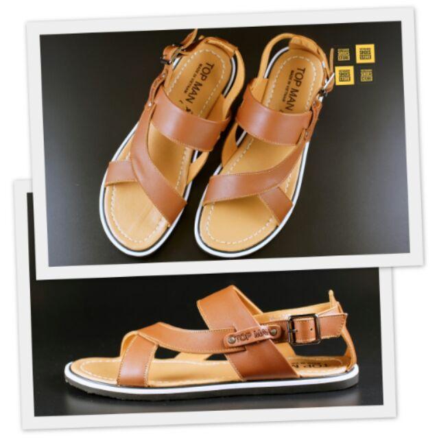 Sandals da Topman màu nâu nhạt
