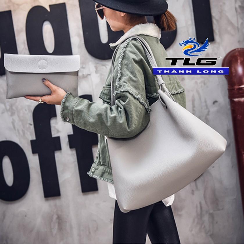 Túi Đeo Vai Nữ Thời Trang Tặng Kèm Ví Đồ Da Thành Long TLG 208144