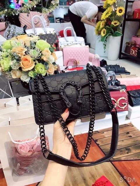 Túi đầu rồng ⚜️ Freeship⚜️ Túi xách nữ đẹp đeo chéo hàng quảng châu hot trend size 22 2020