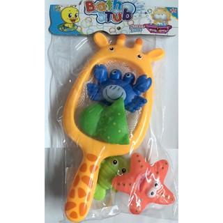 Phòng tắm trẻ em chơi đồ chơi đáy biển mô hình động vật đồ chơi