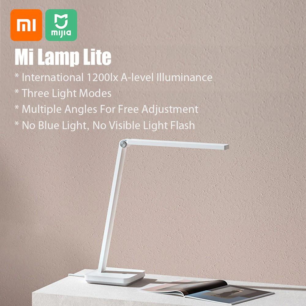 Đèn bàn thông minh XIAOMI Mijia Table lamp Lite - Đèn học chống cận Xiaomi  Mija Table Lamp
