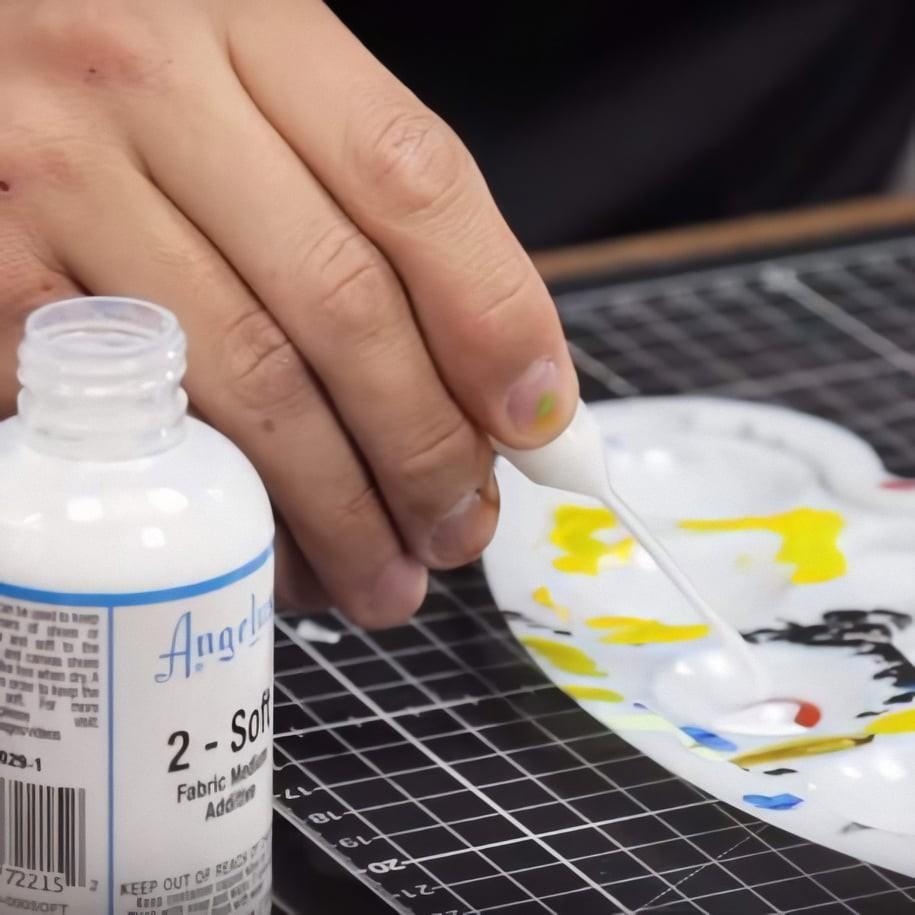 Dung môi pha màu acrylic vẽ lên bề mặt vải Angelus 2-Soft (25ml | 59ml)
