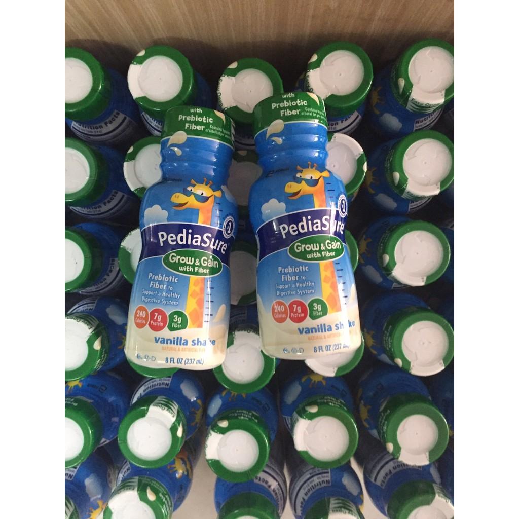 Sữa nước pediasure vani fiber 237ml, hàng Mỹ