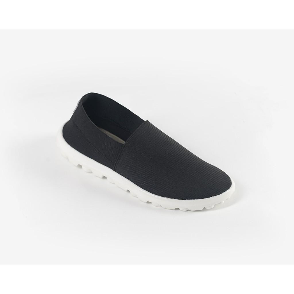 Giày thun thời trang Nữ Solemate 01 Đen trắng