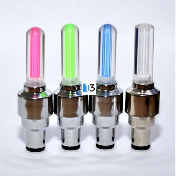Combo 02 Đèn LED Gắn Van Bánh Xe Đạp, Xe Máy, Xe Ô tô - Chọn màu ở mục Phân loại hàng mã số sp TH2884